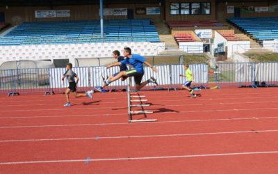 Letní atletické soustředění