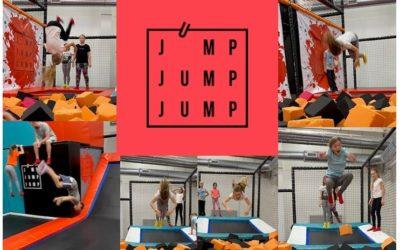 Jump park s Radkou a Lukášem